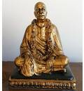 "Prabhupada Vyasasana Figure (7.5"") - Brass Finish"