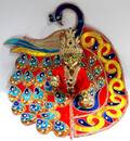 Deluxe Peacock Dress for Laddu Gopal Deity