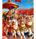 Krishna as Arjuna's Charioteer