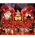 Sri Sri Jagannatha, Baladava and Lady Subhadra -- New Nilacala -- Philadelphia, PA