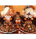 Sri Sri Jagannatha, Baladeva and Lady Subhadra - Paris, France