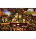 Sri Sri Radha Madhava Vrindavan setting - New Goloka-dhama - Abentheuer, Germany