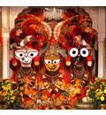 Sri Sri Jagannatha, Baladeva and Lady Subhadra - Melbourne, Australia
