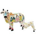 Mother Cow & Calf from Vrindavan Clay