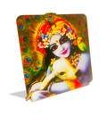 Krishna with cow - Altar / Table stand