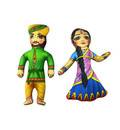 Childrens Stuffed Toys: Maharaja Nanda and Mother Yasoda