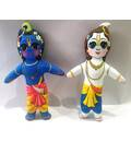 Krishna-Balaram Dolls -- Childrens Stuffed Toy