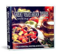 Great Vegetarian Dishes - Cooking With Kurma - 11 DVD set