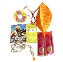 Mantra Meditation Kit (Japa Chanting Beads in Bead Bag)