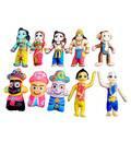Childrens Stuffed Toys: Gaura-Nitai Jagannatha Sita Rama Laksmana Hanuman Set of 10