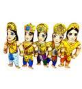 Childrens Stuffed Toys: Panca Pandavas (Yudhishtra,Bhima,Arjuna,Nakula,Sahadeva)