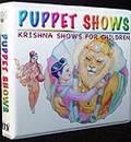 Childrens Krishna Puppet Show and Cartoon DVD Set (4 DVDs)