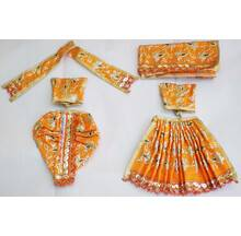 Radha Krishna Dress with Hand Embroidery