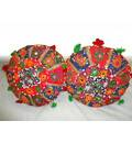 Rajasthani Handmade Cushions (Set of 2)