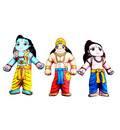Childrens Stuffed Toys: Lord Rama, Laksmana and Hanuman