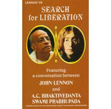 Search for Liberation (1969 with John Lennon, George Harrison and Yoko Ono)