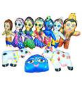 Childrens Stuffed Toys: Pack of 10 Assorted Toys