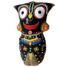 "Childrens Stuffed Toy: Big Lord Jagannatha Doll (10""x20\"")"
