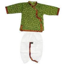 Boys Dhoti and Kurta Set -- Colorful Jaypur pattern kurta