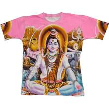 T-Shirt: Krishna Playing Flute -- All over Print