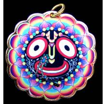 Lord Jagannatha Pendant, New Look