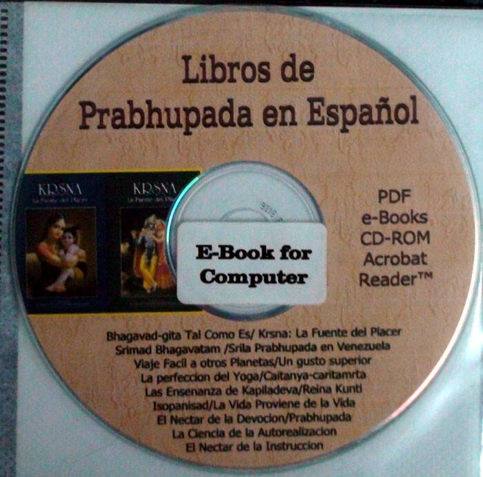 Spanish Srila Prabhupada eBooks PDF Format -- Libros de
